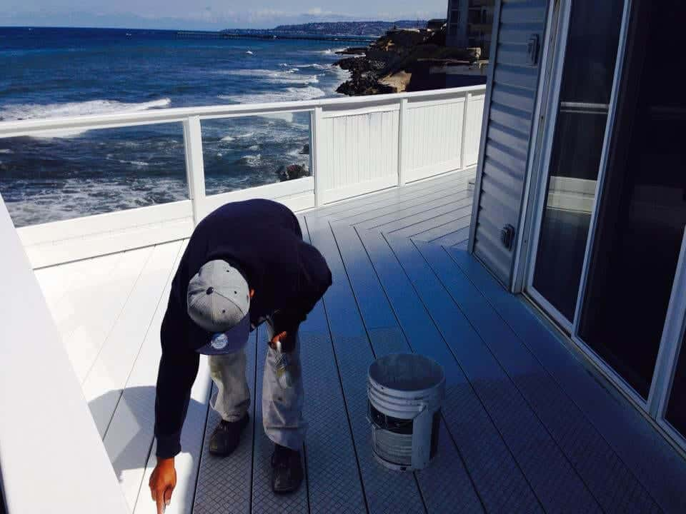 The Beach House ViewDeck - Exterior Painting