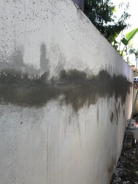 The Villa House Wall Renovation - The Villa House