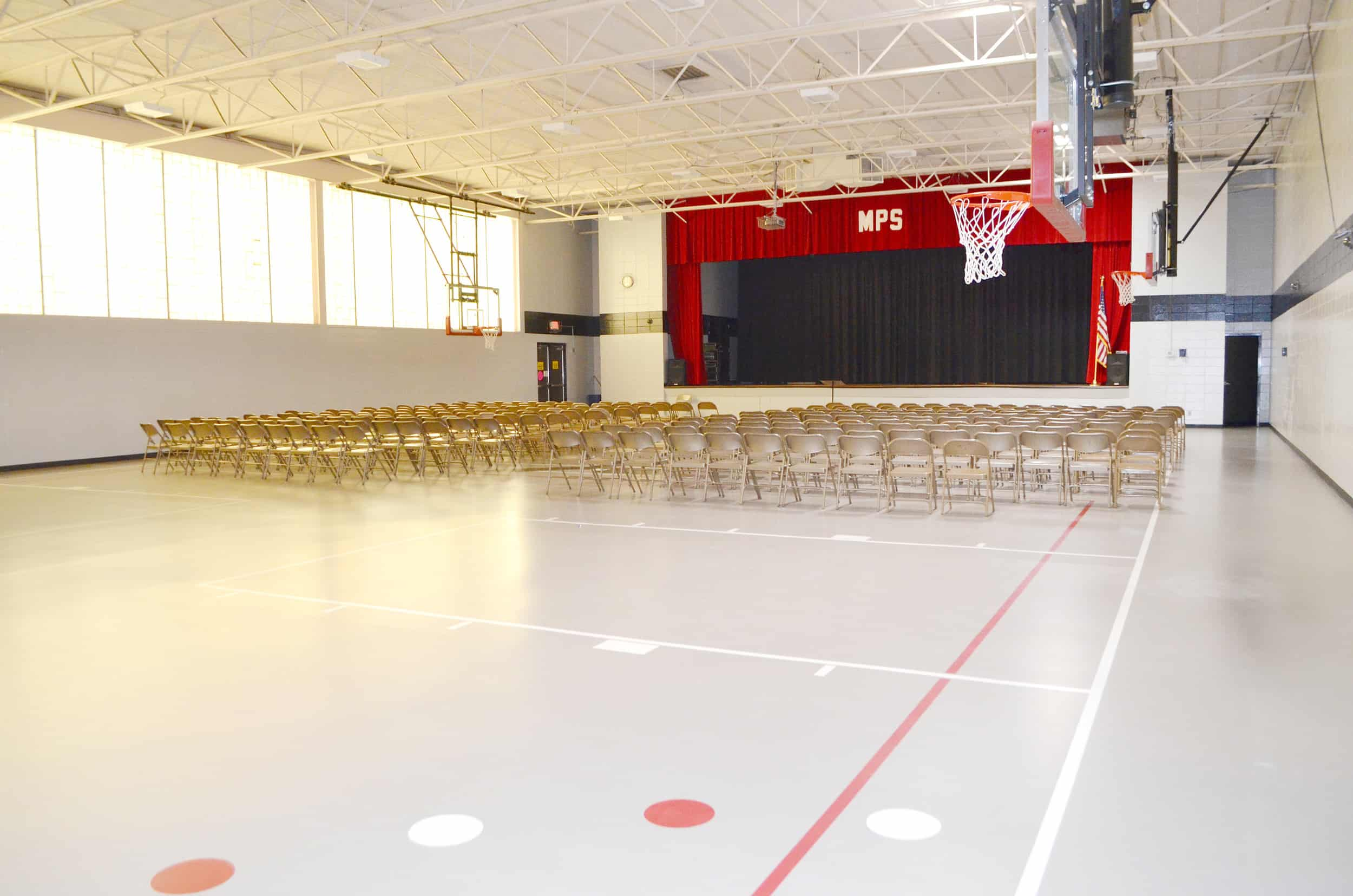 Gym Painted - Commercial Painting
