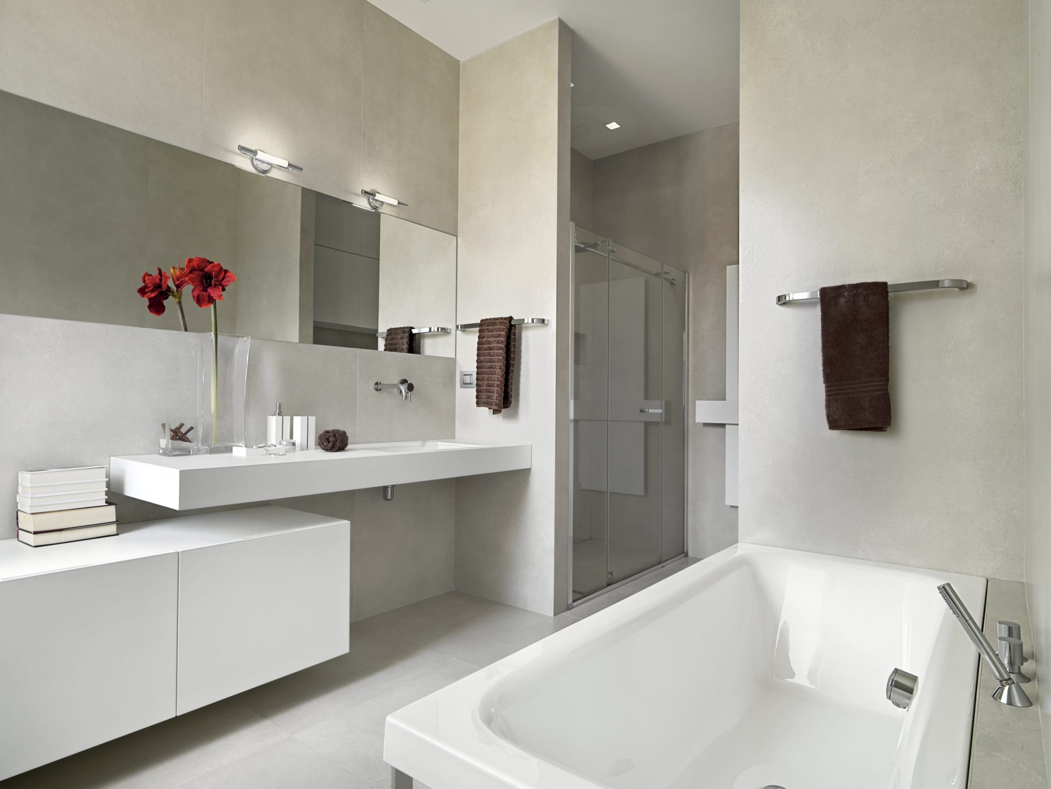 interiors of the modern bathroom 5KC6AV3 scaled - Epoxy Flooring