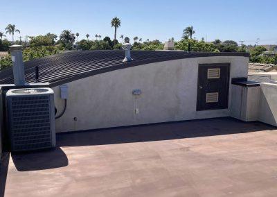 Coronado home roof repair before