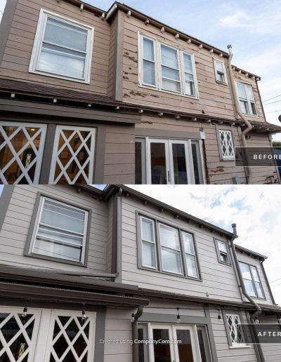 Before and After 1 Mar 18 2021 03 31pm PXzc 400x516 - Exterior Painting & Restoration Point Loma, Ca