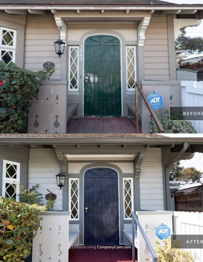 Before and After 2 Mar 18 2021 03 32pm P4JL 400x516 - Exterior Painting & Restoration Point Loma, Ca