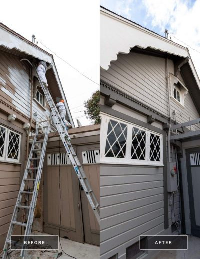 Before and After 3 Mar 18 2021 03 35pm GgWe 400x516 - Exterior Painting & Restoration Point Loma, Ca