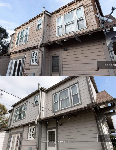 Before and After 4 Mar 18 2021 03 35pm u7cn 400x516 - Exterior Painting & Restoration Point Loma, Ca
