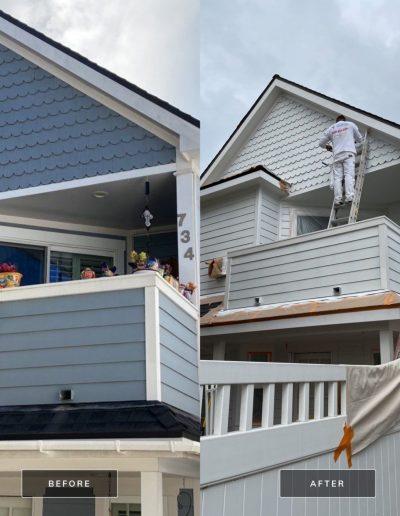 Before and After 3 May 13 2021 12 07pm zRAN 400x516 - Exterior House Painting | Coronado, CA