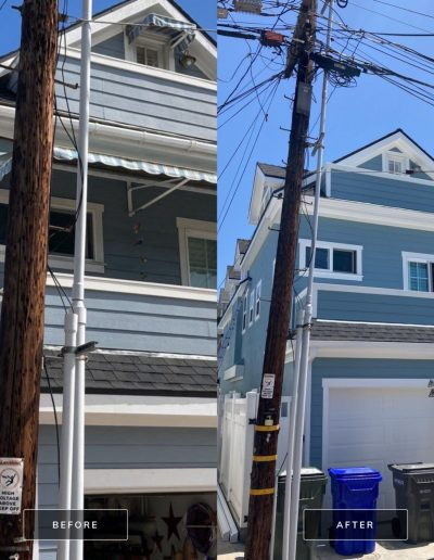 Before and After 4 May 13 2021 12 09pm tkt2 400x516 - Exterior House Painting | Coronado, CA